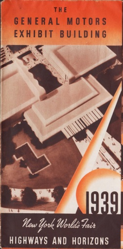 NY Worlds Fair 1939 Brochure GM Building