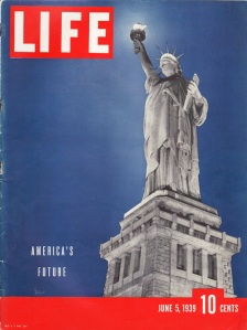 Statue of Liberty Vintage Life Magazine 1939
