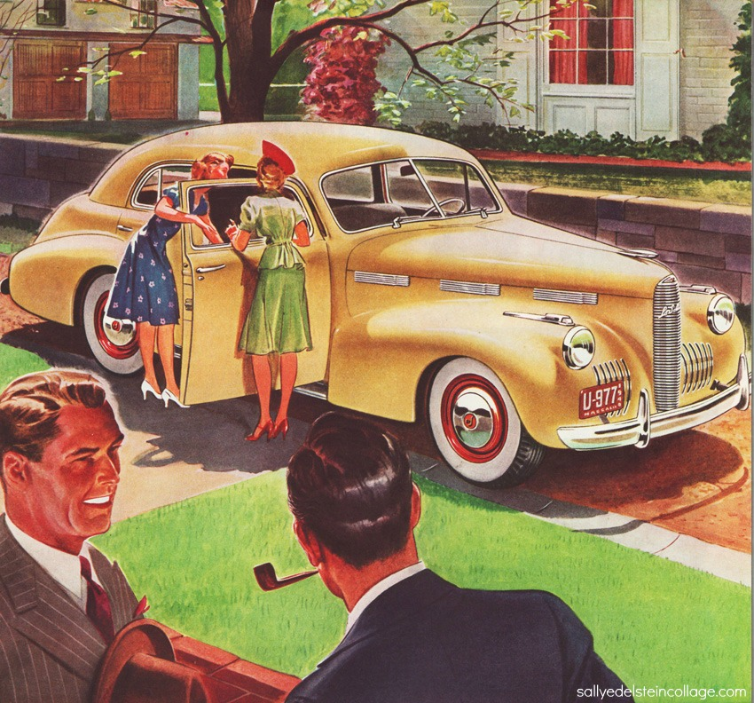 Vintage Ad 1940 car La Salle | Envisioning The American Dream