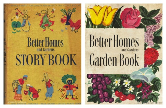 vintage Better Homes and garden Books 1950s