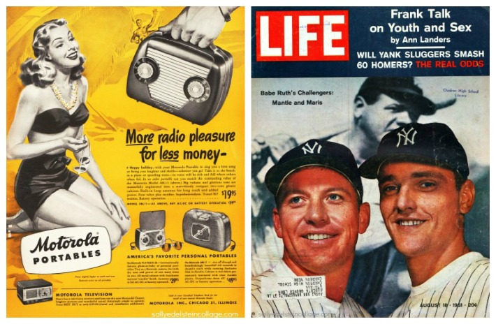Life Magazine cover Mickey Mantle Roger Maris