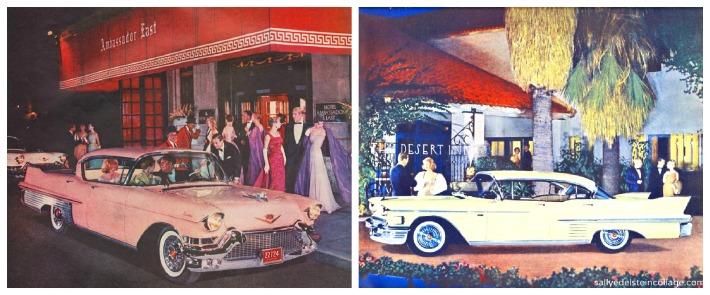 vintage Cadillac car ads 1950s