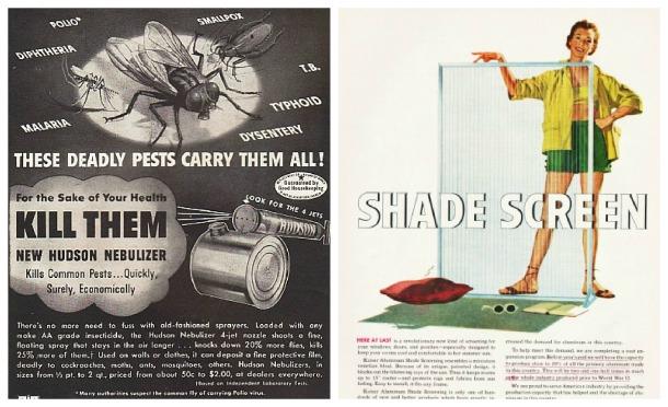 Vintage ads 1950s