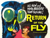 Movie Poster Return of the Fly
