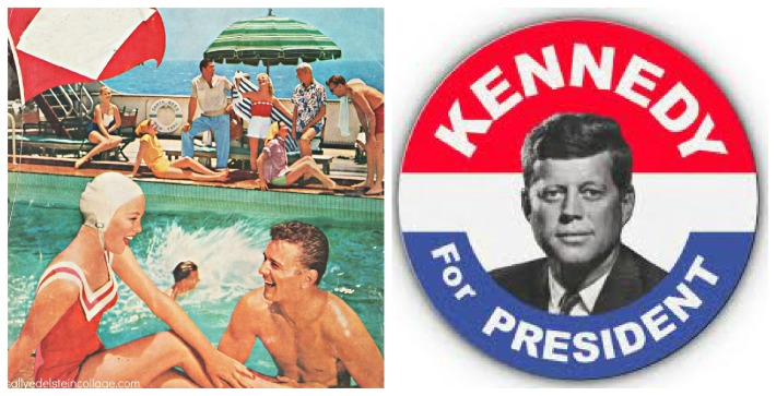 summer beachclub jfk for president button