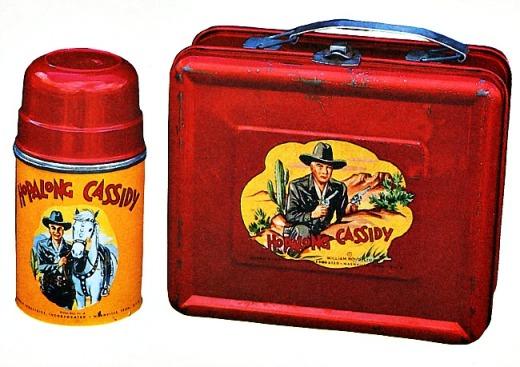 Vintage lunchbox Hopalong Cassidy