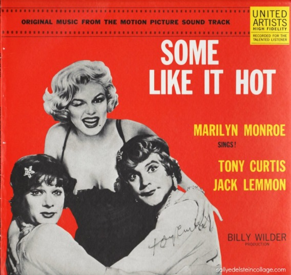 Vintage Vinyl Some Like It Hot Marilyn Monroe 1950s