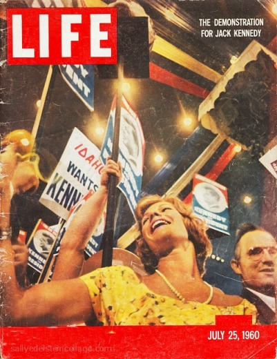 Vintage cover Life magazine 1960 Democratic Convention