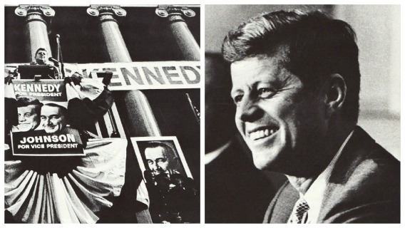 photos JFK Campaign president 1960