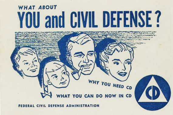 Vintage Civil defense Booklet 1950s
