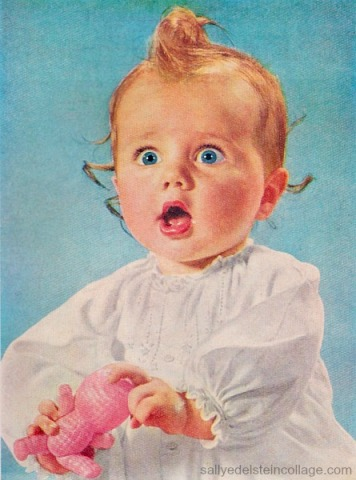 vintage 1950s baby
