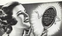 photo 1930s woman beauty ad