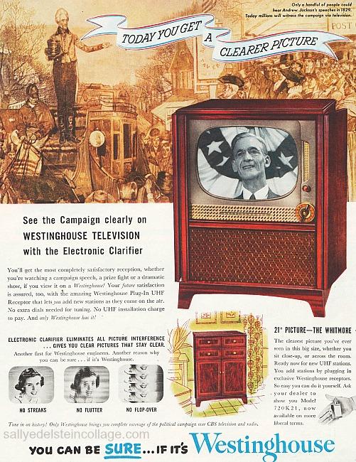 Vintage Ad Television 1952