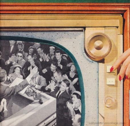 vintage Television set 1950s