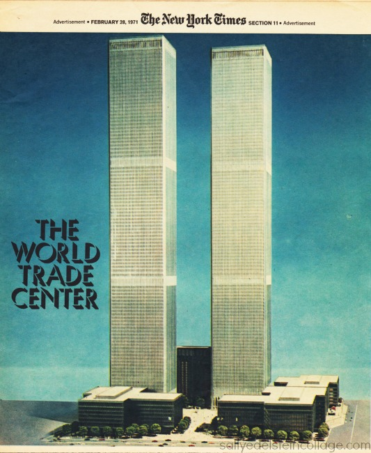 World trade center Model 1971