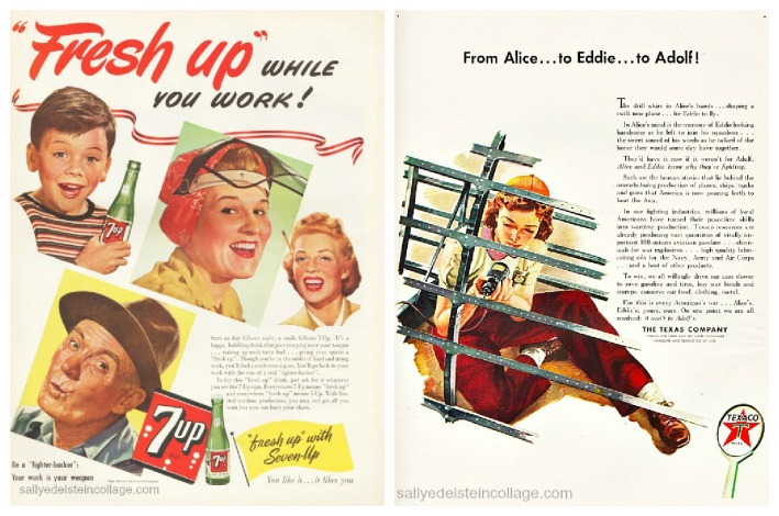 Vintage WWII ads