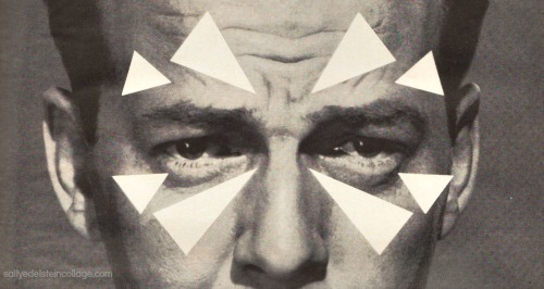 vintage ad mans face headache