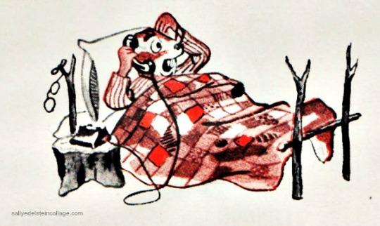 vintage cartoon illustration chipmunk 1950s