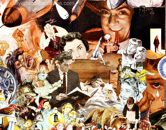Artwork collage Sally Edelstein