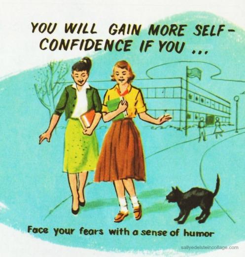 Vintage Illustration Childrens Health Schoolbook 1960