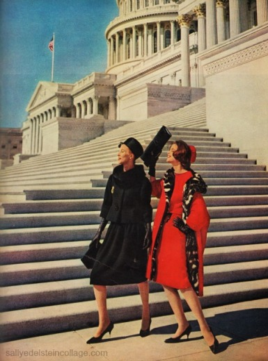 vintage womens fashion photo 1960 Capital Washington DC