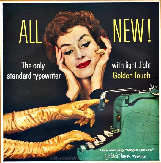 1950s typewriter