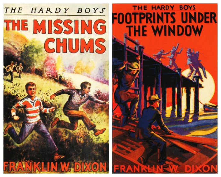 vintage book hardy boys