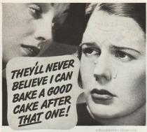 Vintage Cake Ad 1930s