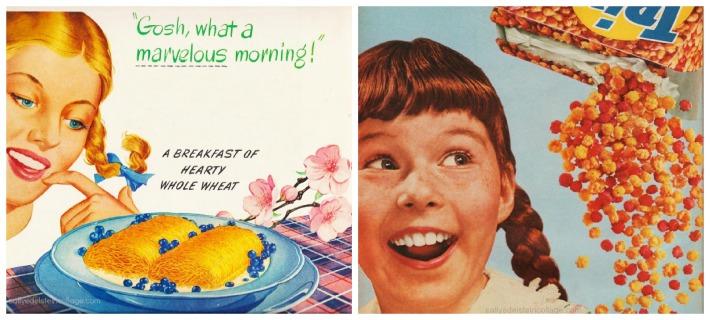 vintage food ads