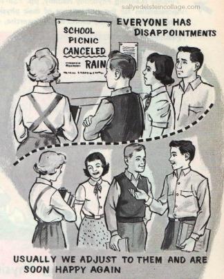 Vintage Illustration childrens schoolbook 1960