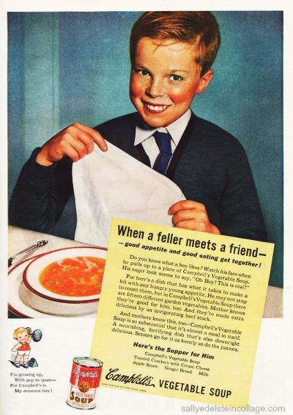 Vintage ad Campbells soup 1935