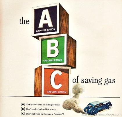 Vintage WWII Texaco Oil Ad 1943