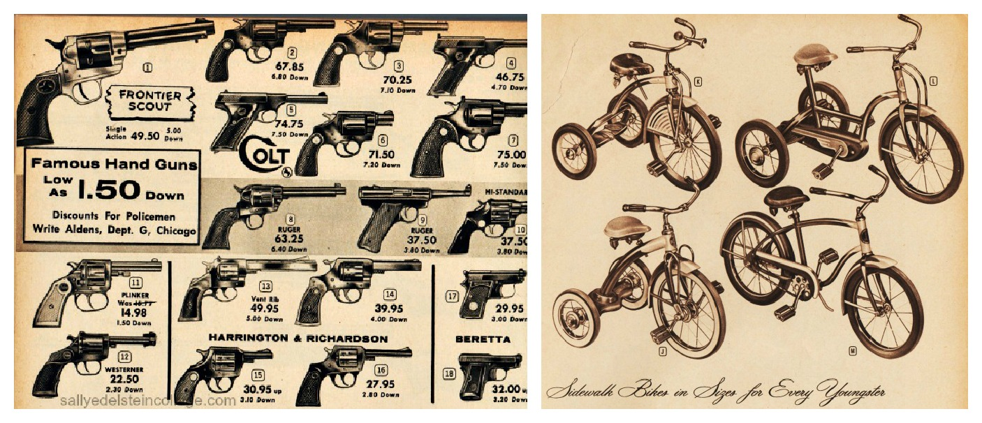 catalog guns bikes | Envisioning The American Dream