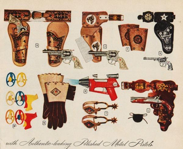 toy guns 1950s
