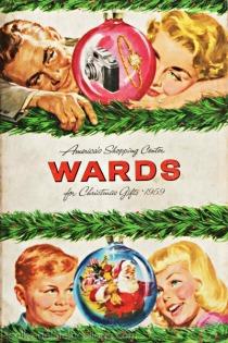 Vintage Montgomery Ward Xmas catalog