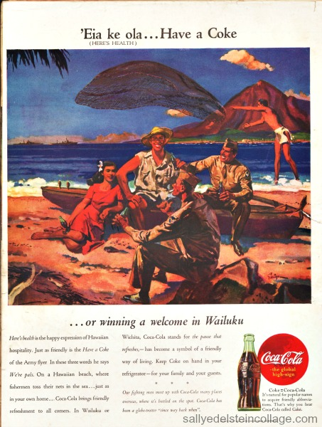 vintage coke ad hawaii