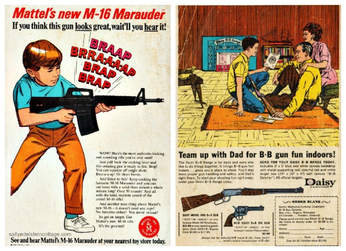 vintage ads toy Guns