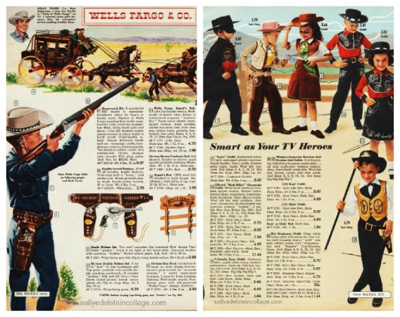 1950s children toy guns catalog