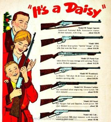 guns xmas daisy rifle ad
