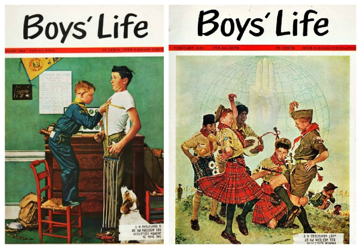 Boy Scouts Boys Life Magazines Norman Rockwell