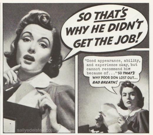 Vintage Ad Colgate Dental Creme 1940 speech bubbles