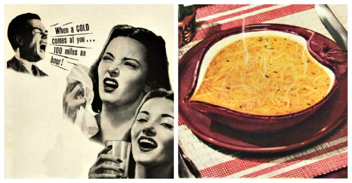 health cold chicken soup advertising