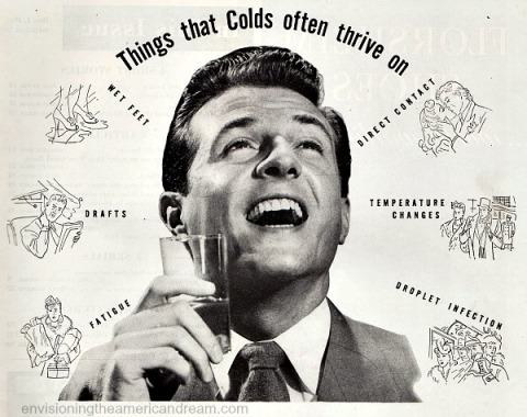 health colds listerine ad