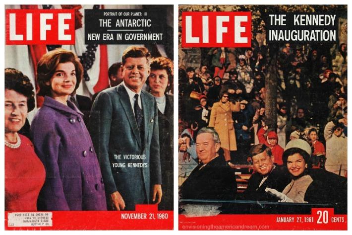 Life Magazine Covers JFK