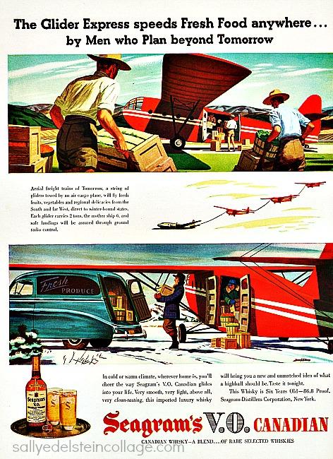 vintage ad 1946 future transportation