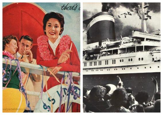 travel cruise Bon Voyage SS United States