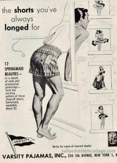 mens fashion varsity pajamas