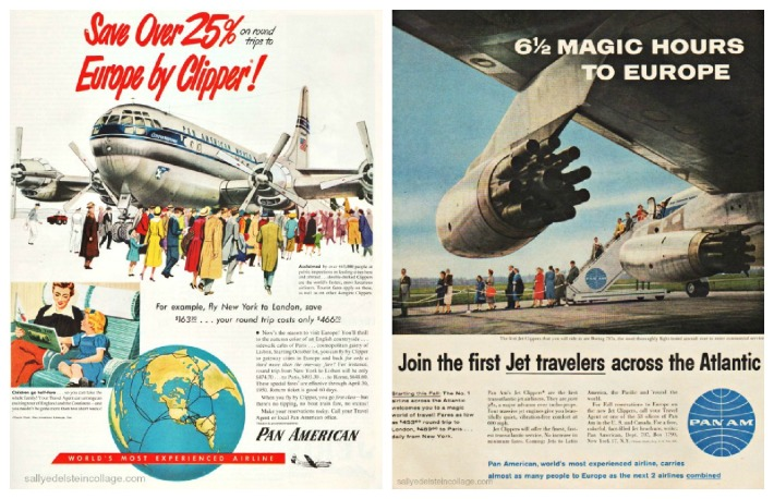 travel Pan American advertising