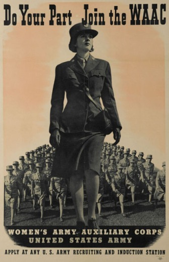 WWII WAAC recruitment poster