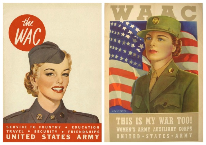 WWII WAC and WAAC Recruitment Posters